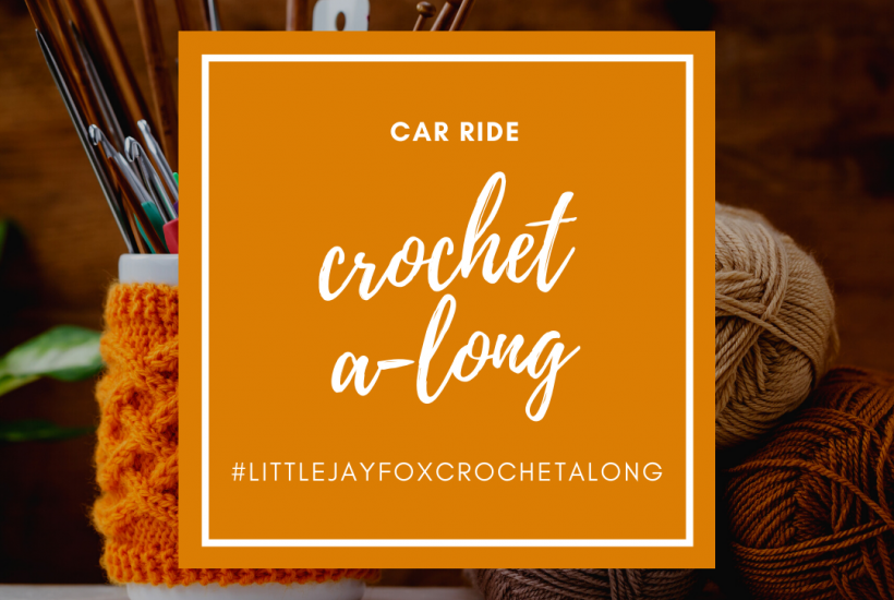little jay fox, little jay fox cochet a long, crochet a long, crochet shawl
