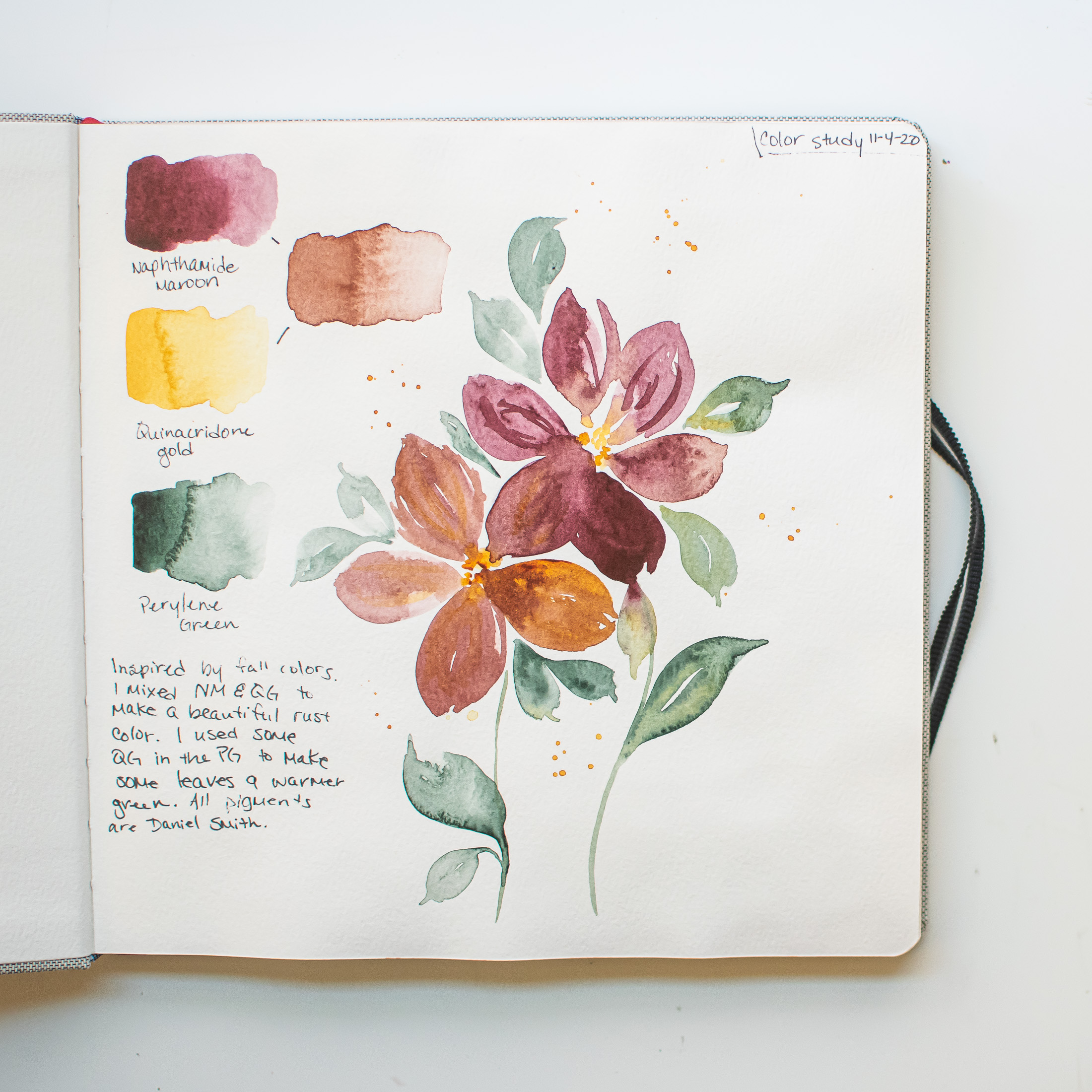 Watercolor Journaling